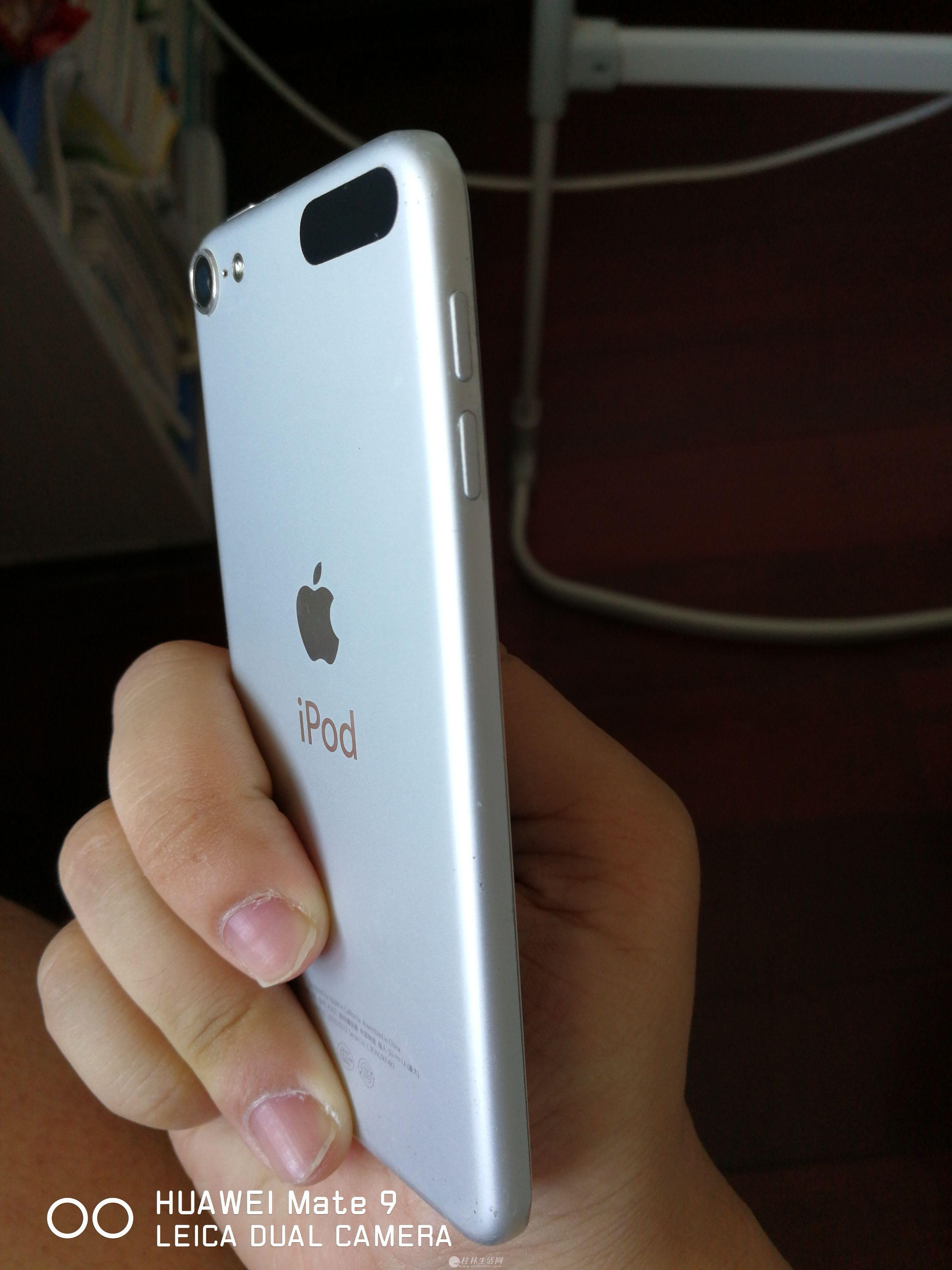 出售9成新苹果ipod,几乎没用过,有意者速联