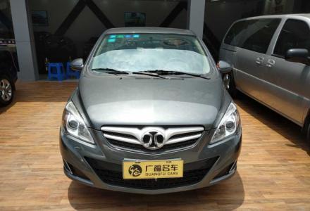 2013款 北京汽车E系列 三厢 1.5L 自动乐天版