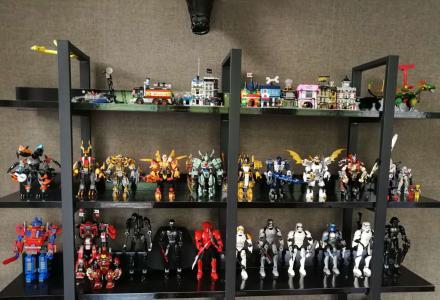 全新乐高拼装玩具机器人