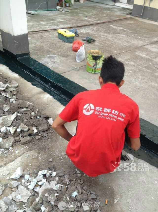 专业承接各类大面积防水,房屋屋顶防水,卫生间防水;补裂缝雨棚
