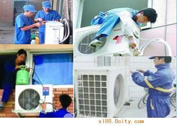 桂林七星区专业空调维修、深度清洗、杀菌消毒、加氟服务公司