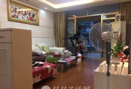 @象山区  幸福家  小区中央黄金楼层精装3房124平88万