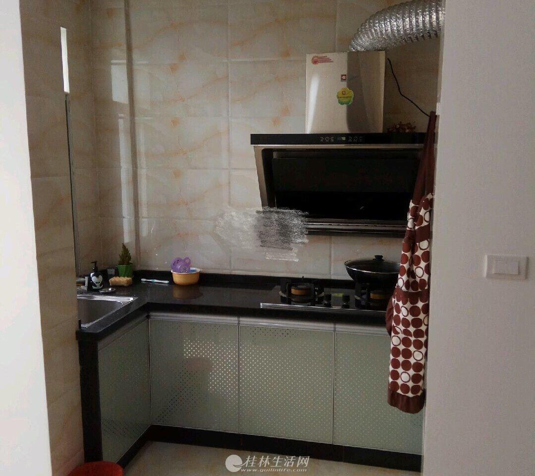 出租,碧水康城,1房2厅1卫,50平米,7楼,1800元/月,家具齐全