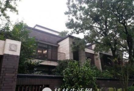 Q桂林公馆 原乡墅 独栋别墅 占地500平 带大花园 江景