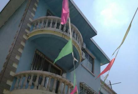 临桂金水湾别墅靠路边,一层可做门面的别墅出售
