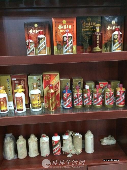 桂林高价回收老酒茅台酒五粮液国窖郎酒求购名酒洋酒虫草