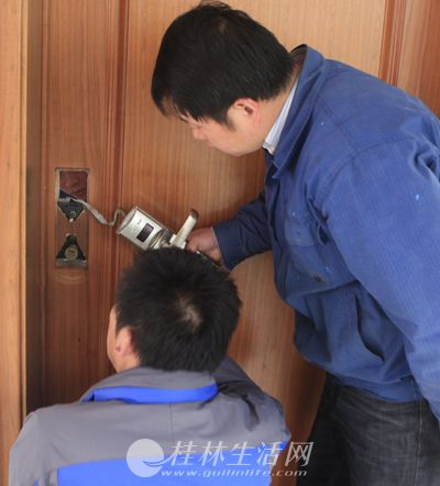 桂林市八里街专业开防盗门锁换锁 汽车配钥匙服务公司