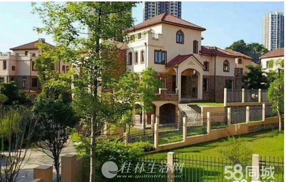 临桂新区 机场路 西城大道 兴荣郡准现房别墅,有天有地有花园