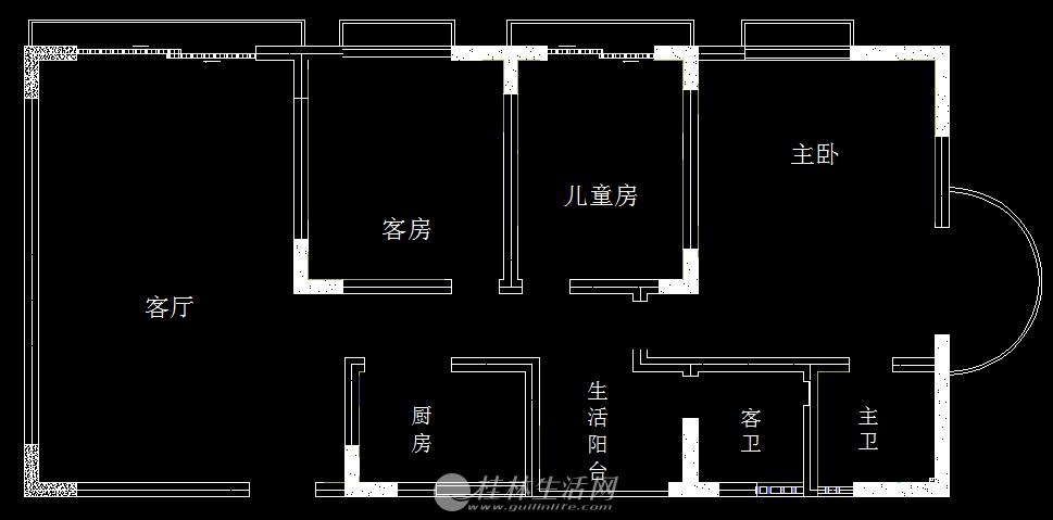 三里店育才大厦9楼(139平米),临街,适合办公,可打广告