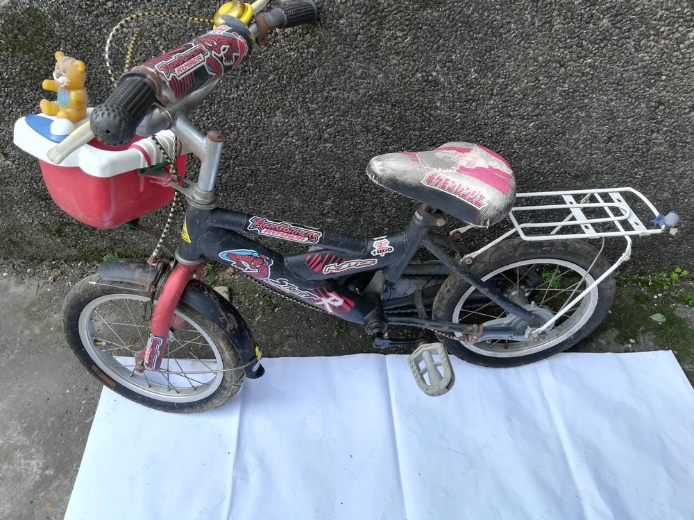 转让8成新自用煤气灶及儿童用自行车