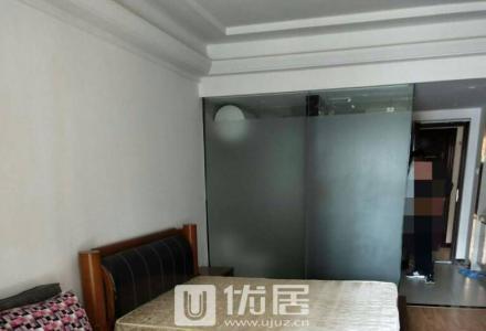 SS万达公寓 一房一厅一卫一厨一阳台 精装 50平  仅租2100   仅此一套 快有慢无!!
