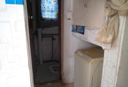 九岗岭2楼大单间配套500元月床衣柜防盗门窗磁砖地