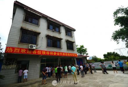 出租灵川县潭下镇建设街厂房加办公楼一栋3000平米