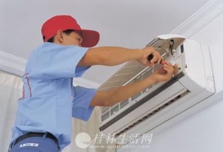 临桂区专业维修空调公司临桂空调不制冷加氟维修临桂新区拆装空调