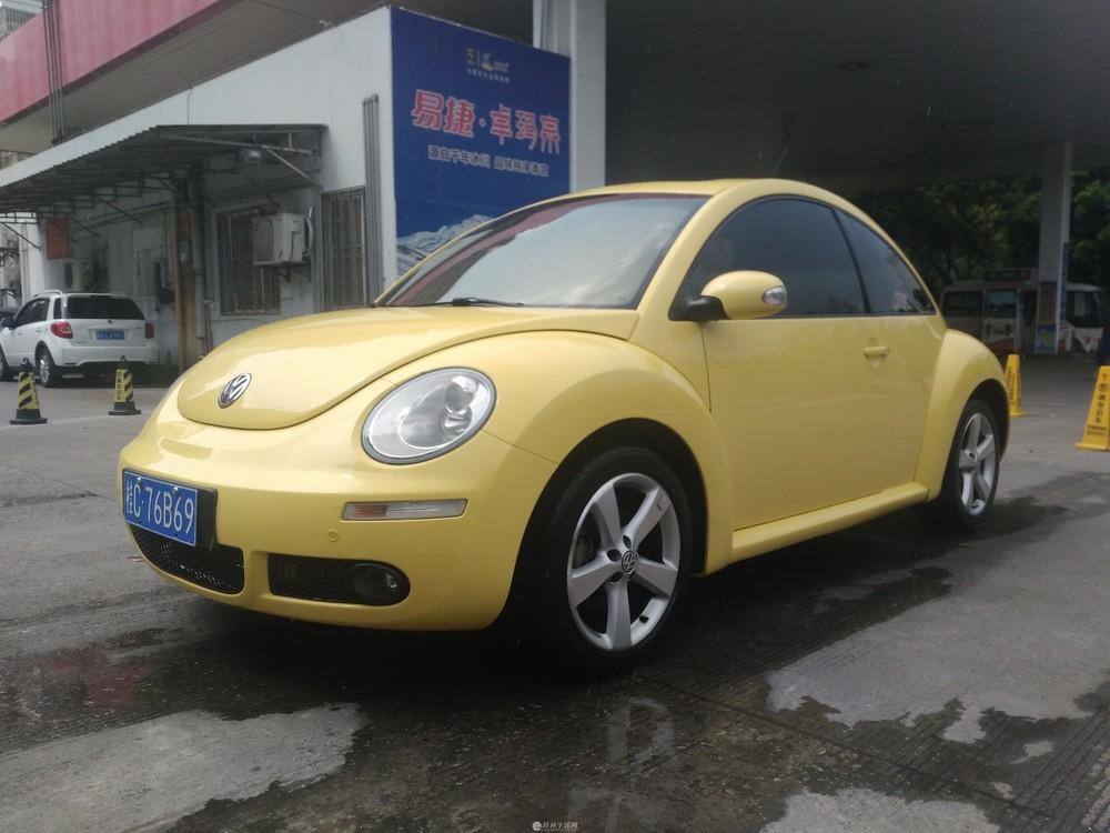 私家车 09年新甲壳虫1.8T转让