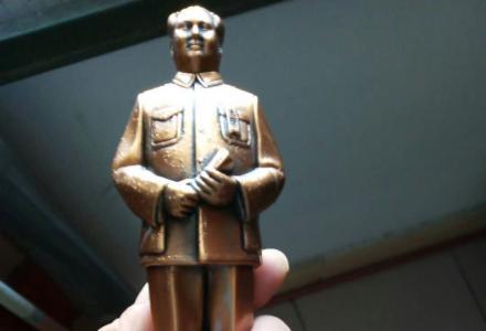 精致毛主席铜像 优惠转让