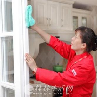 桂林钟点工,新房装修开荒,专业清洗玻璃,外墙清洗15077310696