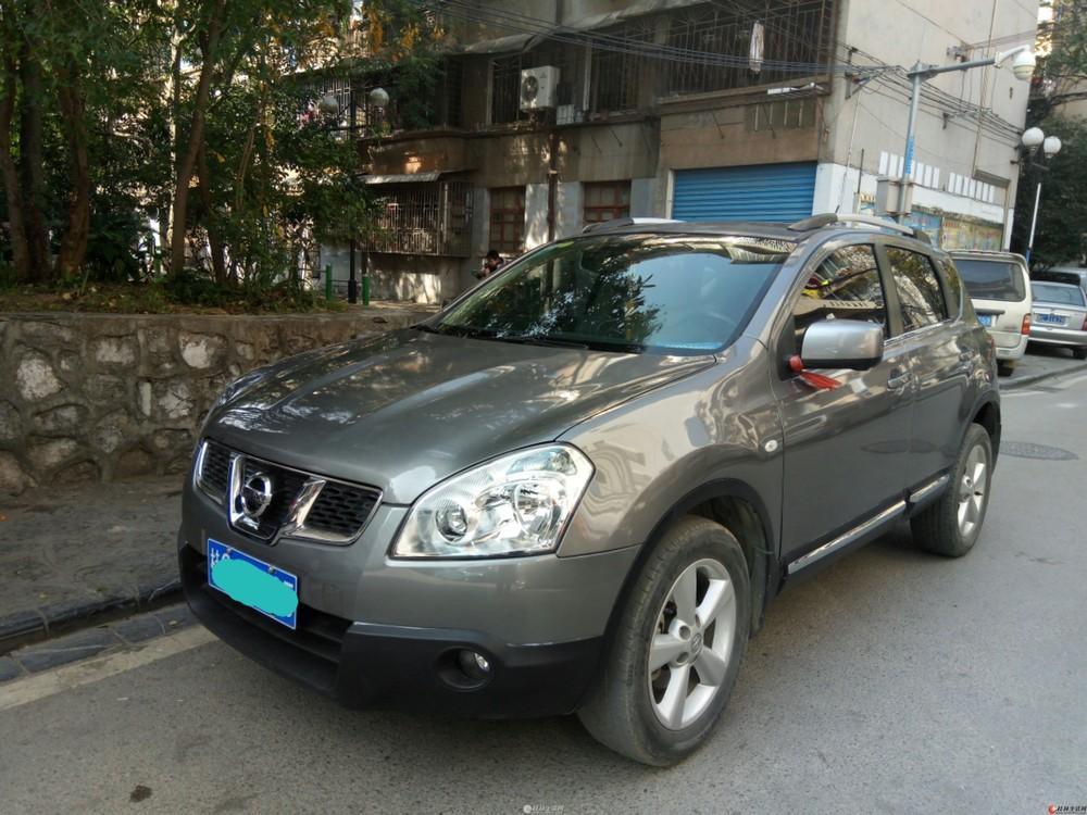2012年8月购买,2011款日产逍客2.0L自动挡高配汽车出售