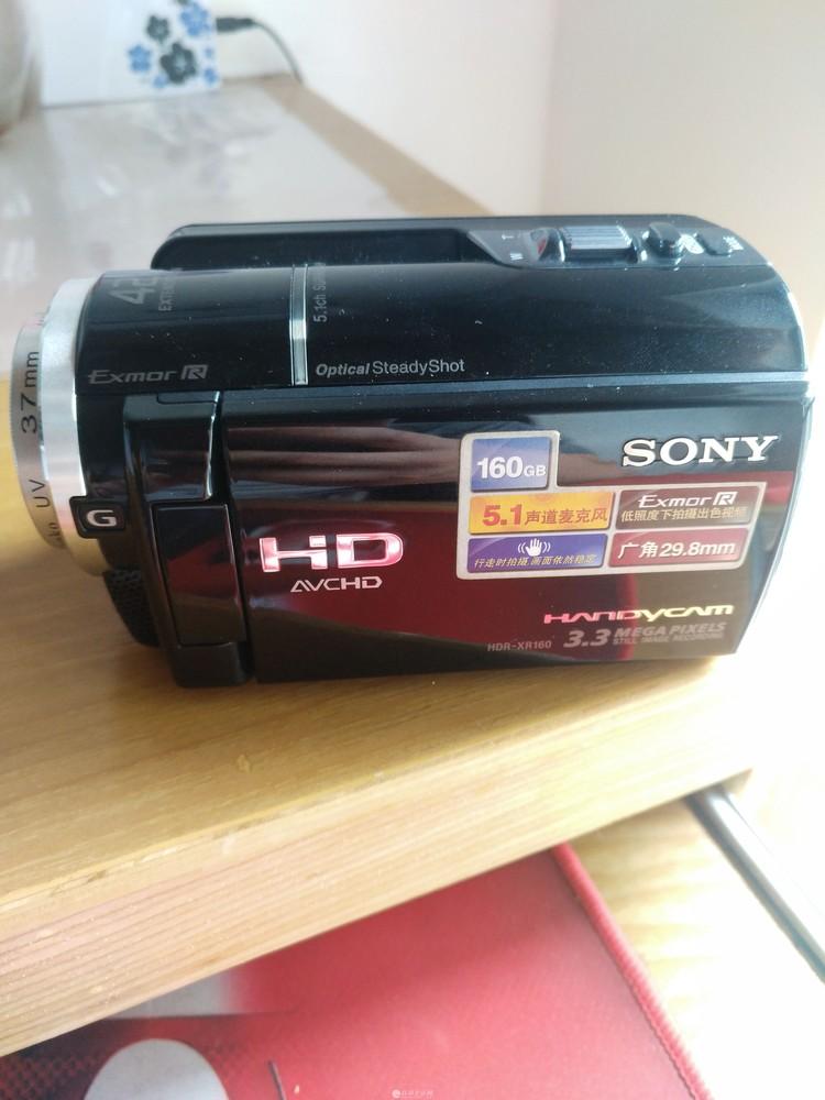 索尼 HDR-XR160几乎全新