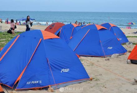 桂林户外帐篷睡袋出租,每套25元/晚起