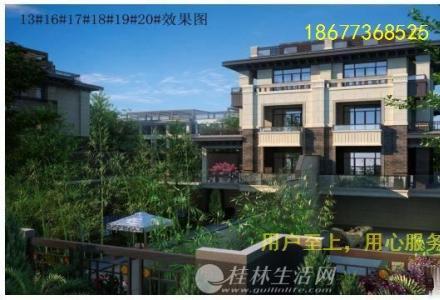 漓江畔 市中心 安厦漓江观澜 靠山观江 珍藏独栋4500万