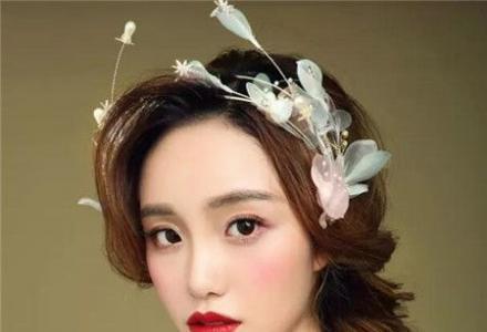 韩式唯美新娘妆+中式新娘+高贵气质新娘