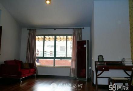 安厦世纪城安怡园复式楼 送45平方大露台精装 200平米