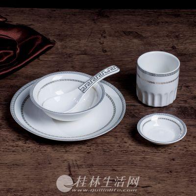 酒店餐具定制厂家 酒店餐具用品陶瓷大汤碗 酒店餐具用品批发商