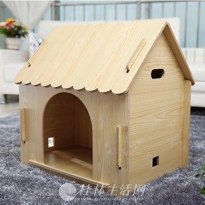 今年新购入的宠物原木木屋低价转,狗狗小猫都适用