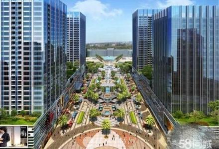 火车北站口 恒大公寓精装修68平大阳台
