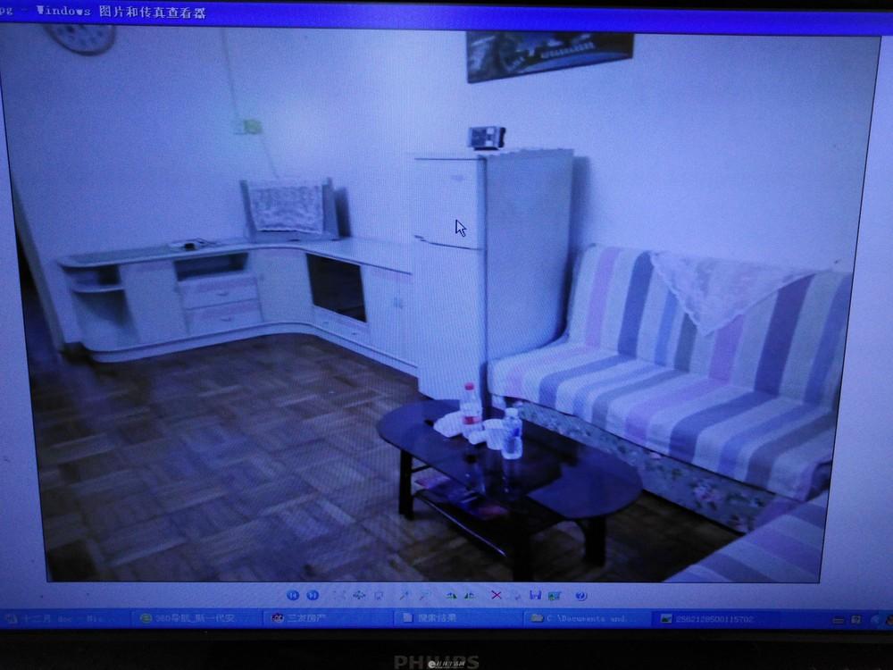 江景房 短租或长租文明路人民医院宿舍二房一厅有保安家电家具全1200_1000元月