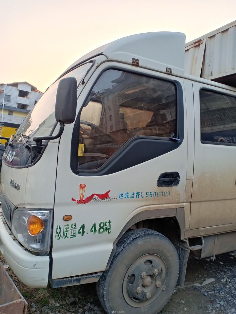 双排座江淮箱体3.1米货车
