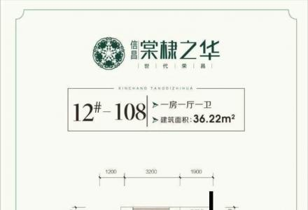 新房团购中心+信昌棠棣之华+公寓住宅超高赠送35平