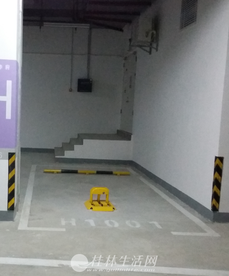 桂林七星区万达广场 华府公寓楼车位 低价转让