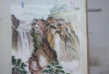 桂林市中国山水画出售