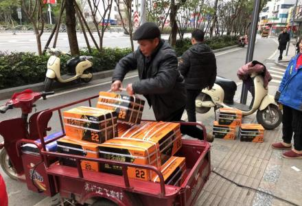 桂林超威特久电池质量好容量22安跑得远快递哥都在用的好电池