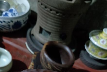 全手工柴烧紫砂泥公道杯