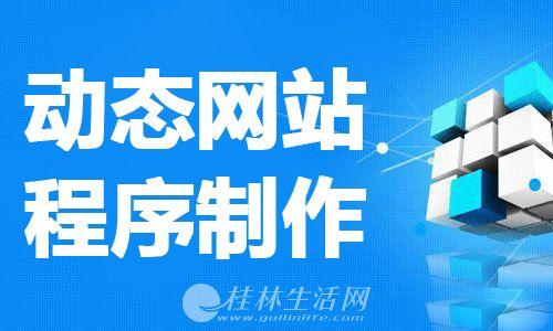 桂林动态网站程序制作班