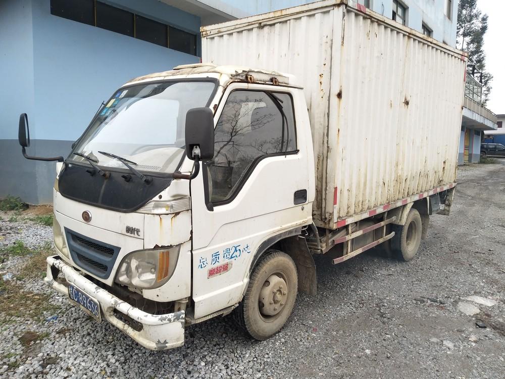 福田牌3.2米小货车废铁价转让