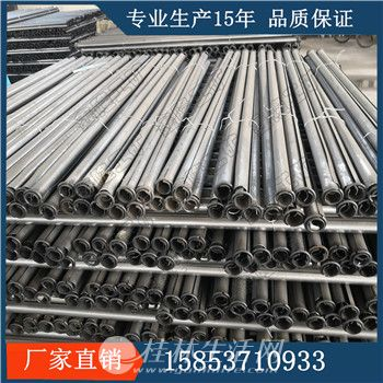 材质Q235管缝锚杆 全长锚固管缝式锚杆 高强度锚杆
