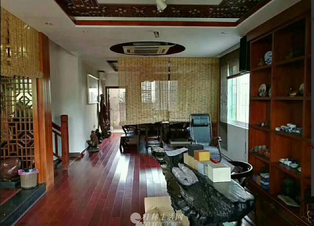 漓江边 春江苑大院子精装别墅250平米 自住或做茶庄或者民宿