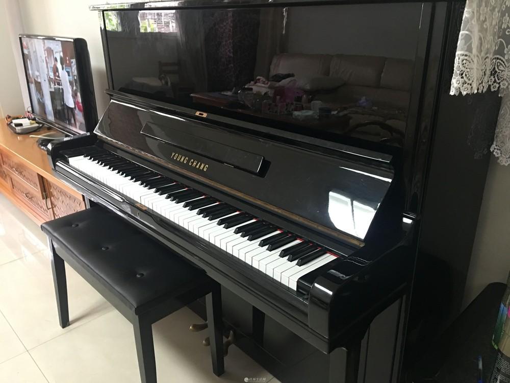 2手韩国英昌牌U131演奏级钢琴