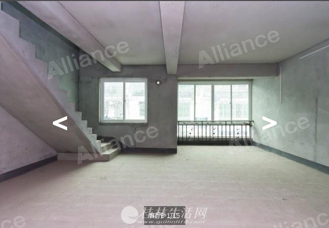 H象山区万寿家园二期顶层复式楼清水房168.8平