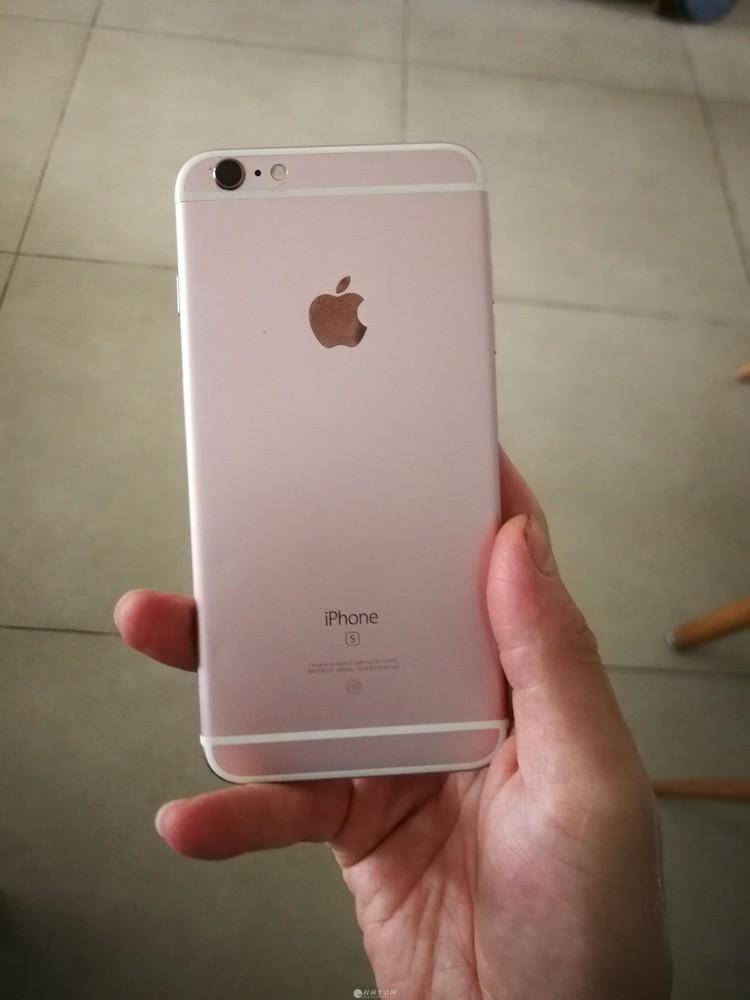 自用的苹果6SP   64G  玫瑰金