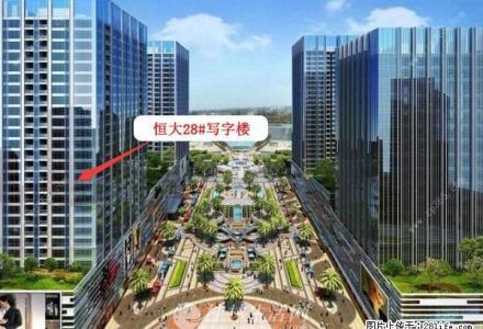 火车北站恒大广场5A甲级写字楼53平米(非中介)