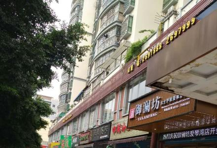 中山北路鑫灿花园门面出租(桂林市五交机电市场斜对面),70平米,层高5米,有意者请
