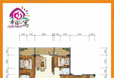 桂林象山区四房两厅两卫四阳台145㎡幸福公寓只需48万