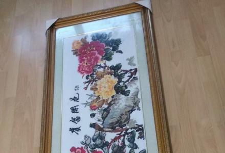 低价出售两幅《十字绣》