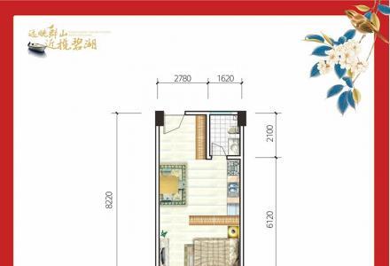 象山区一房一厅一卫47㎡只需15.6万-桂林山湖小筑