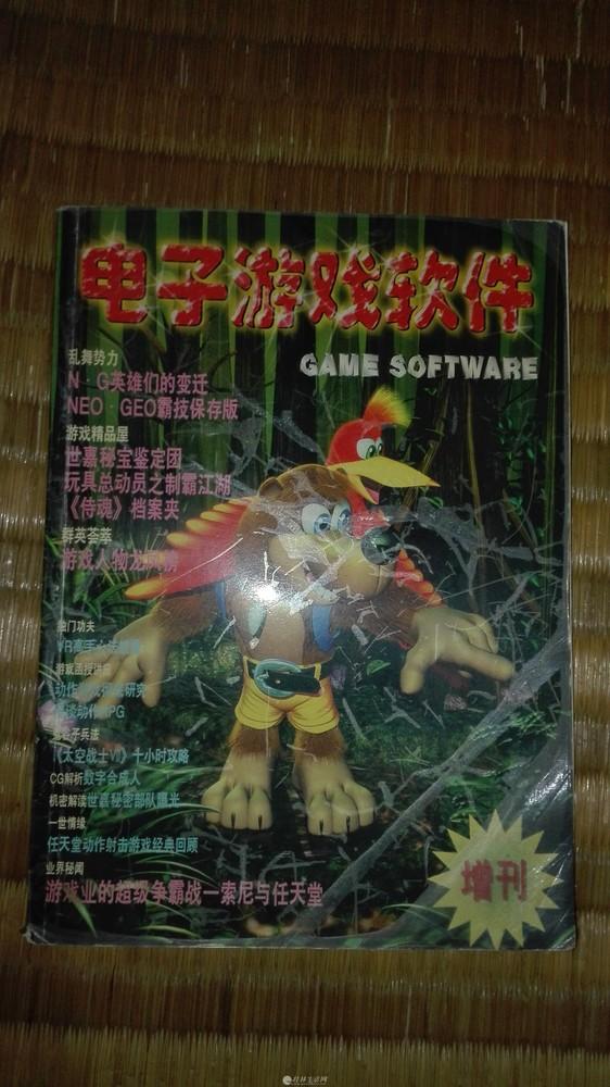 电子游戏软件增刊(经典游戏书籍)!